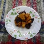 とり肉とレバーのマリネ(冬)