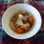 大根とぶた肉の炒め煮(冬)