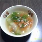 白菜とツナのトロトロスープ
